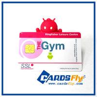 competitive price custom design plastic smart card/high quality rfid smart card