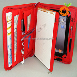 Guangzhou factory wallet filp leather zipper case with card case for Ipad mini