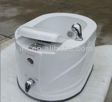Shikang China factory wholesale acrylic pedicure sink with jets