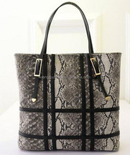 wholesale fashion designer snake woman handbag women bag tote bag lady handbag