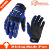 RIGWARL High Quality Motorcycle & Auto Racing Blue Adult Motorbike Glove With OEM Serice