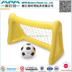 ICTI SEDEX Factory Audit PVC inflatable rugby goal post,inflatable water polo goal,inflatable soccer goal