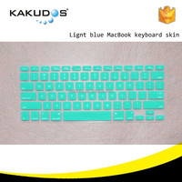 American version Candy color silicone keyboard cover for macbook computer tablet pc all size
