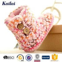 kids fancy brand name winter boots for girl