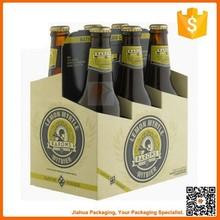 beer box cardboard 6 pack bottle beer carriers
