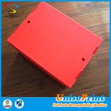 wholesale custom design matt red corrugated shipping boxes