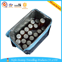 Factory direct insulated picnic 6 cans tote beer cooler bag