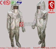 Low price wholesale factory direct sale Fire proof suit aluminized fire suit for Firefighter