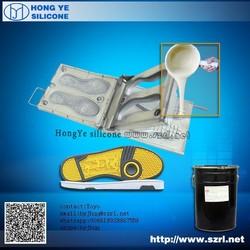 Shoe mold making RTV silicone