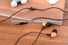 New Fashion Awei ES-Q5 Stereo Wood Headphones Earphones Earbuds For mp3 mp4