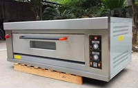1 Deck 3 Trays Gas Oven Commercial Cake Baking Oven