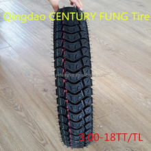 ISO9001 Factory Supply motorcycle tire3.00-18