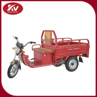 Guangzhou factory direct sale cheap cargo use three wheel gas motorcycle and mini electric car hot in 2015