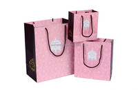 New products high quality printing cheap small paper gift bags with handles