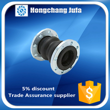 Pipe Fittings Bellows stainless steel twin sphere rubber Expansion Joint