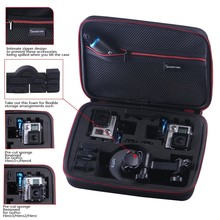 Smatree Storage EVA Case for Hero4 / 3+ / 3 / 2 / 1 Digital Cameras and accessories