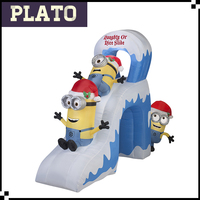 christmas inflatable minion/inflatable despicable me/festival inflatable minion