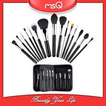 msq 15 pc pro mejor vendedor kit de maquillaje cepillo del maquillaje caso