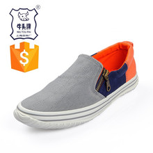Trade Assurance 2015 Hot Sale Casual Man Canvas Flat Shoes