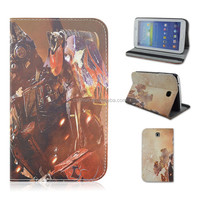 Cartoon Trans-formers Flip Stand PU Leather Tablet Case For Samsung Galaxy Tab 3 7inch P3200/T210/T211