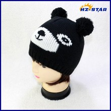 HZM-13984013 Design Acrylic Knitted beanie personalized baby kid animal pets hat