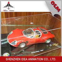 High quality scaled die cast racing car models