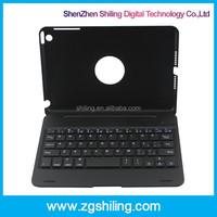 360 Rotating Wireless For iPad Mini Bluetooth Keyboard Case