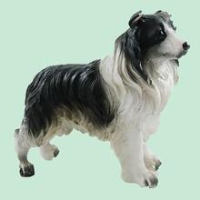 Universal For Home Decor Basset Hound Dog signed Lovely Statue