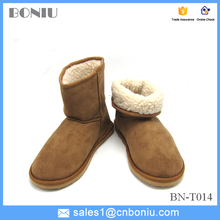 foam outsole lambswool Hot Sale winter woman indoor snow boots warm
