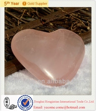 Wholesale Natural Rose Quartz Heart for Holiday Gifts