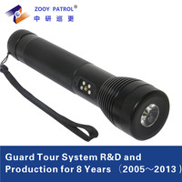 Guard Tour System/ Guard Wand Reader With LED for Night Patrol