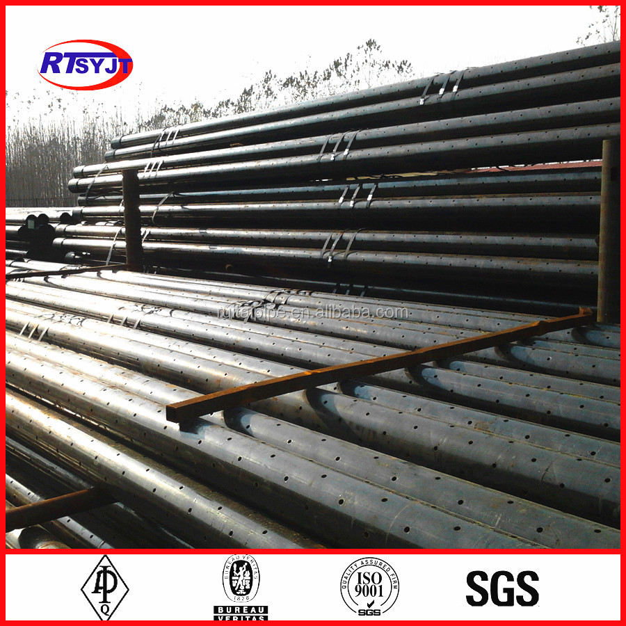 Api ct j perforated casing pipe for oil well filter
