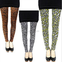 Mid Waist Slimming Compression Full Length Footed Shiny Seamless Tights Leggings