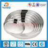 Indian style round shape stainless steel fruit tray/deep vegetable tray