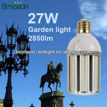 Hot wholesale 27 watte LED corn Bulb LED corn lamp e27 e40 used in a closed light fixture
