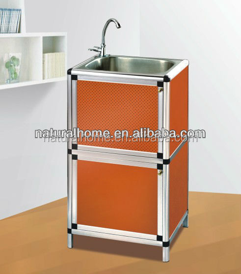 Home Furniture Modular Stainless Kitchen Cabinets