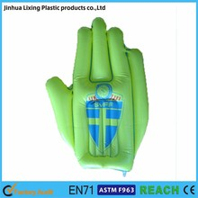 Factory direct sales inflatable hand ,inflatable fingers