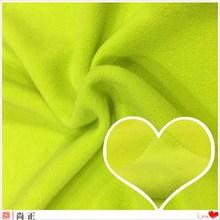 100% polyester solid dye colors lightweight polar fleece fabric