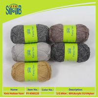 2015 yarn manufacturer wholesale knit lace yarn for hand knitting