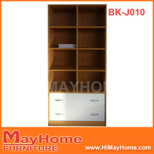 Book cabinet bookshelf with drawers