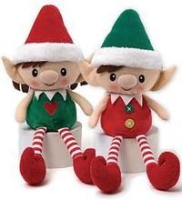 christmas elf toy/elf christmas decoration/26cm christmas elf stuffed plush toy