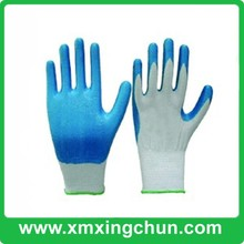 13g nitrile knitted liner coated working gloves