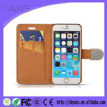 Fashional Custom Shockproof Leather Phone Case Cover For iPhone 6 Plus 5.5 Inch