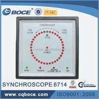 diesel generator synchroscope meter 6714+