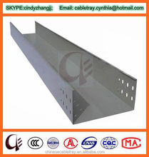 Solid Pre Galvanized Steel Cable Tray High Quality Cable Trunking