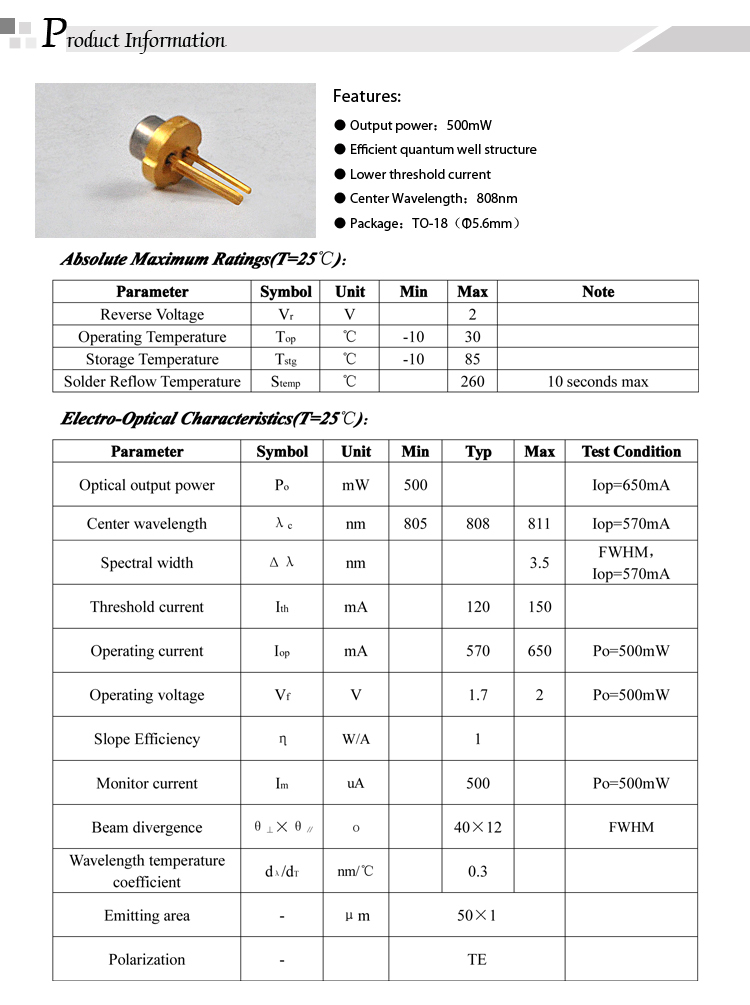 808nm-500mW-TO-18-Laser-Diode_02