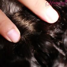 homeage 5a human hair weave cheap weaves virgin hair silk top closure lace frontal