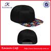 funny custom snapback cap no logo/wholesale logo snapback hat cap/floral snapback with leathet brim