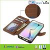 Minion belt clip leather case cover for samsung galaxy s6 edge