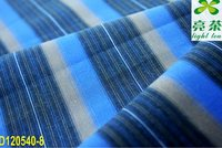 compact stripe cotton fabric